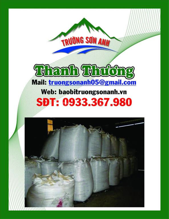 Sản xuất bao jumbo chất lượng 500kg - 1 tấn ( có bao cũ giá rẻ )