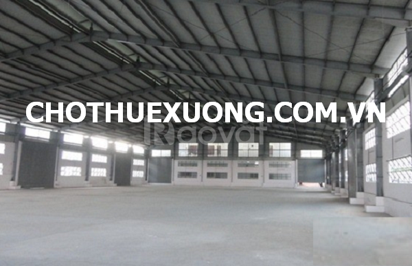 Cho thuê nhà xưởng đẹp tại Quán Gỏi Bình Giang Hải Dương giá tốt