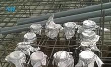 Ống chôn bê tông - lưới bện inox - lưới kép inox