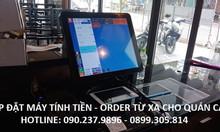 Bộ máy tính tiền cảm ứng cho nhà hàng tại Bình Dương