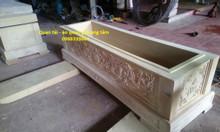 Xưởng đóng quan tài bằng gỗ vàng tâm 100%