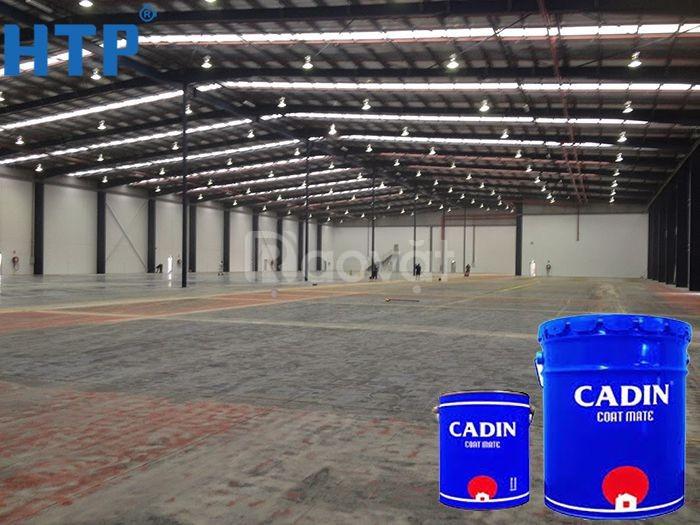 Chọn sơn epoxy Cadin giá rẻ cho nền nhà xưởng