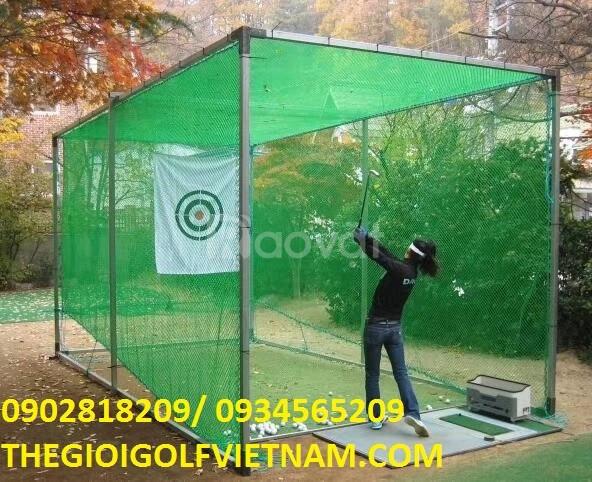 Bộ khung lưới tập golf kt 3m*6m*3m
