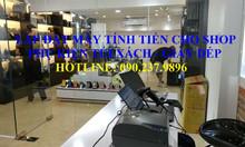 Máy tính tiền trọn bộ cho shop giày dép tại Bình Dương
