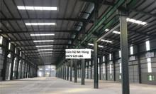 Cho thuê 1300m2-5000m2 nhà xưởng KCN Quế Võ 1 Bắc Ninh