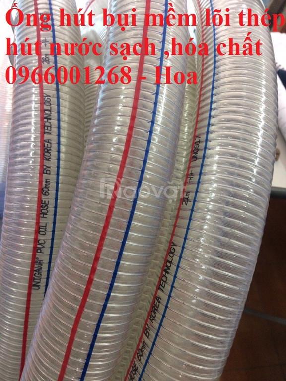Ống nhựa mềm lõi thép Hàn Quốc - Trung Quốc