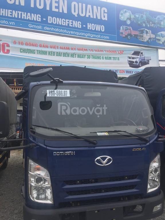 Xe tải Đô Thành iz65 hỗ trợ trả góp cao