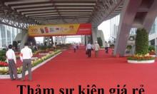 Thảm sự kiện, thảm giá rẻ màu đỏ dùng một lần tại Hà Nội