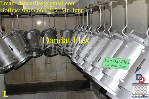 Ống giãn nở nhiệt, khớp co giãn inox 304 - ống nối mềm chịu nhiệt