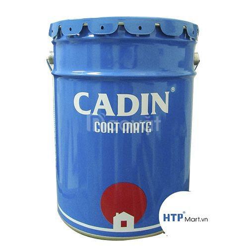 Thùng sơn kẻ vạch Cadin lon 5kg màu trắng giá bao nhiêu tại TPHCM