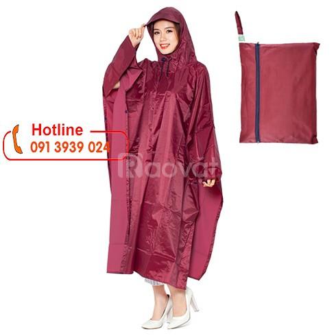 Áo mưa quảng cáo, xưởng may áo mưa cánh dơi, áo mưa dù tổ ông bền