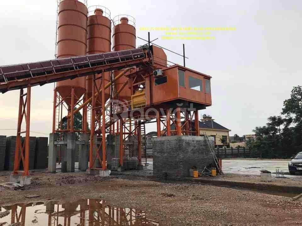 Bán trạm trộn bê tông, silo xi măng, máy trộn bê tông