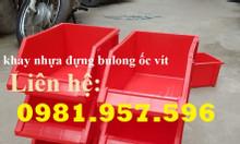 Khay Nhựa A8 Đựng Linh Kiện Phụ kiện ốc vít trong các gara nhà xưởng