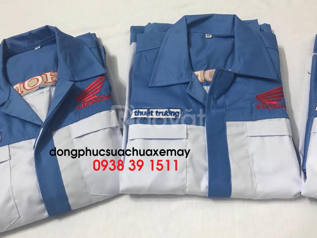 Đồng phục xe máy, đồng phục honda, đồng phục yamaha giá rẻ