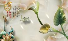 Tranh ngọc 3d - gạch tranh sứ ngọc