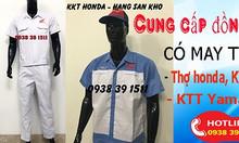 Quần áo thợ sữa chữa xe máy, quần áo thợ honda