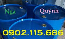 Thùng phuy sắt 220L nắp kín,thùng phuy sắt làm phao,đựng hóa chất