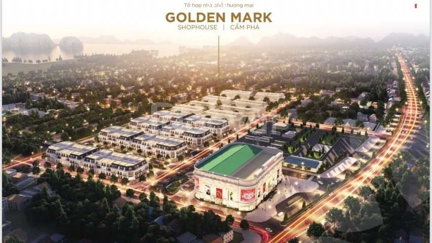 Dự án Vincom Shophouse Golden Mark Cẩm Phả Quảng Ninh
