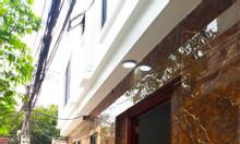 Bán nhà phố Trần Cung, mặt ngõ, xây mới DT 35m2x5T, 3PN, 4WC