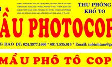 In màu photocopy 40B Trần Hưng Đạo, Hoàn Kiếm, Hà Nội