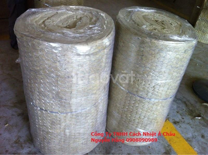Cuộn Rockwool bảo ôn các loại bồn chứa hoá chất,cách nhiệt đường ống