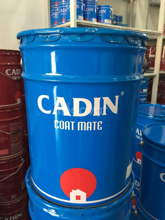 Cung cấp sơn kẻ vạch Cadin màu đỏ, kẻ vạch cho con lươn, bó vỉa