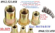 Bán ốc rút ê cu rút M3,M4,M5,M6,M8,M10 bằng inox 304 và thép mạ giá rẻ