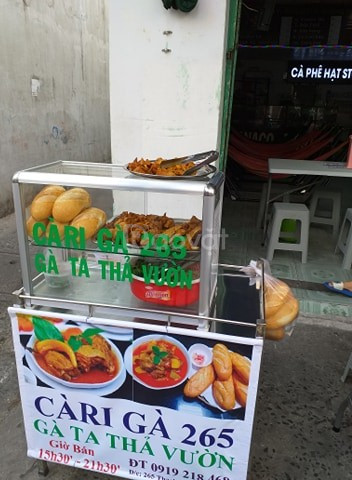Quán cà ri gà ta xịn ngon ở Tân Phú Sài Gòn