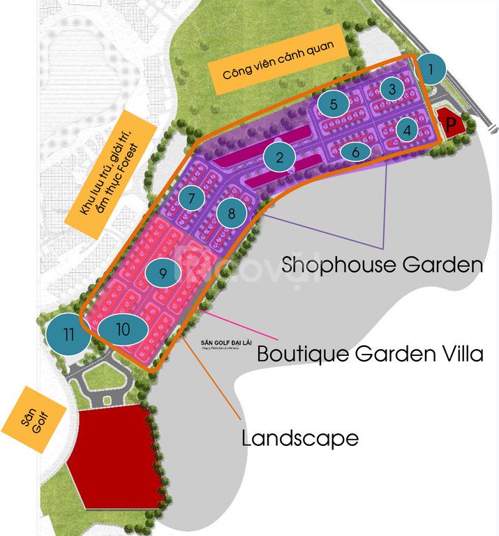 Shophouse Flamingo Đại Lải, đầu tư 1,2 tỷ, LN >10%, sở hữu vĩnh viễn