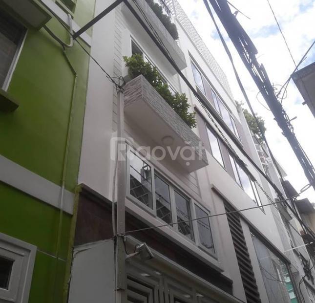 Nhà phân lô góc Mai Dịch 48m2, kinh doan, vỉa hè 3m, 5 tầng