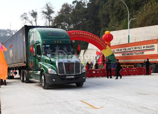 Chành xe gửi hàng đi Trung Quốc với giá tốt