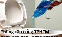 Thông cống nghẹt TPHCM, thông cầu nghẹt