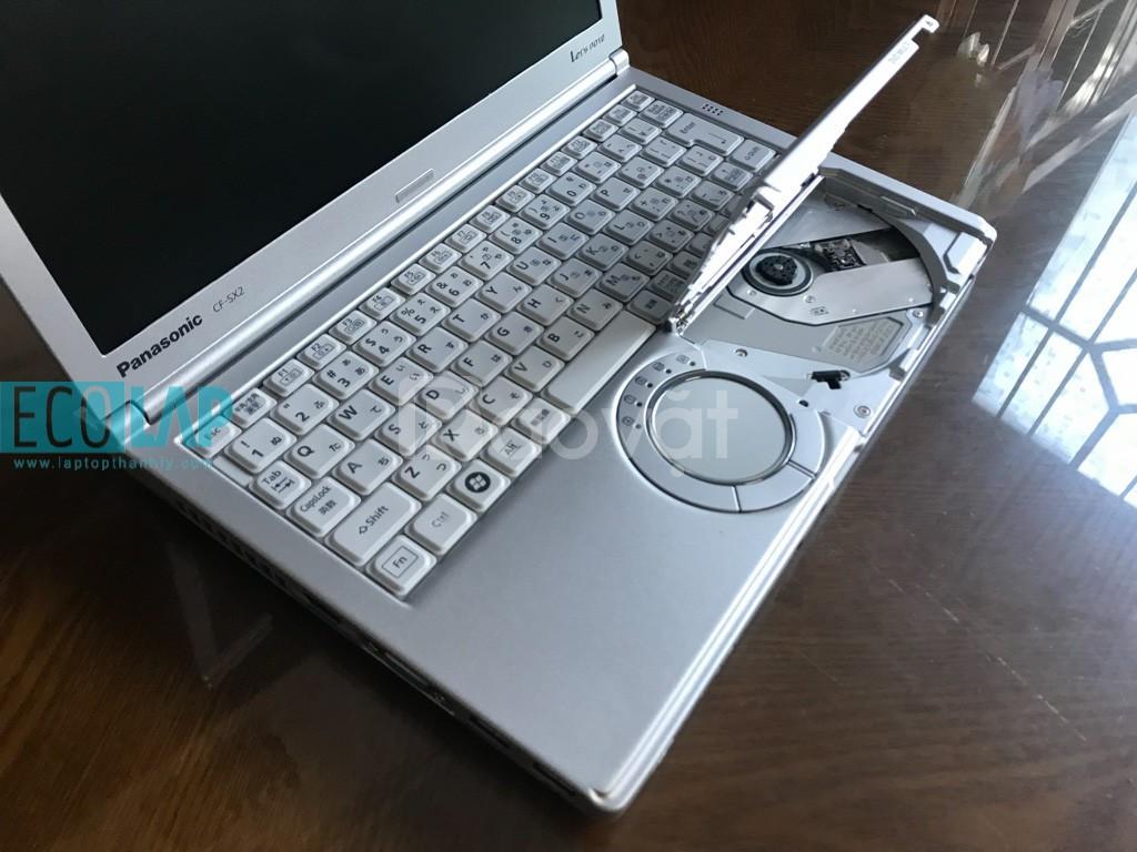 Panasonic CFSX2 i5 2.6Gh 8G 250G 12.5in HD+1600x900 Pin 4-5H Nhỏ gọn đ
