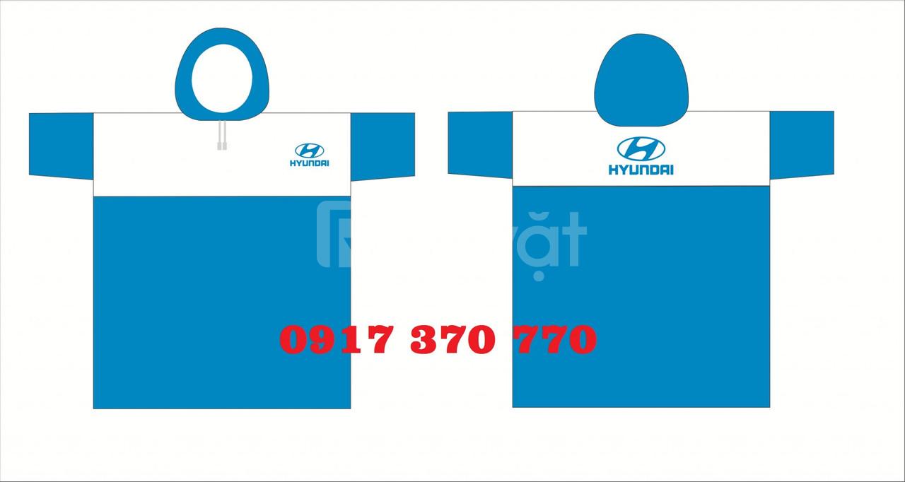 Áo mưa quảng cáo, sản xuất áo mưa in logo theo yêu cầu