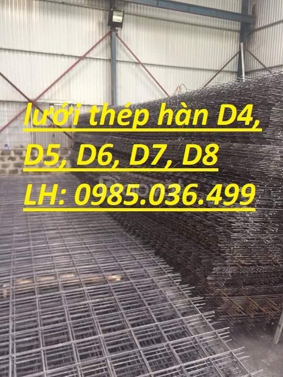 Chuyên cung cấp lưới thép hàn cho công trình D4 a200x200 giá rẻ