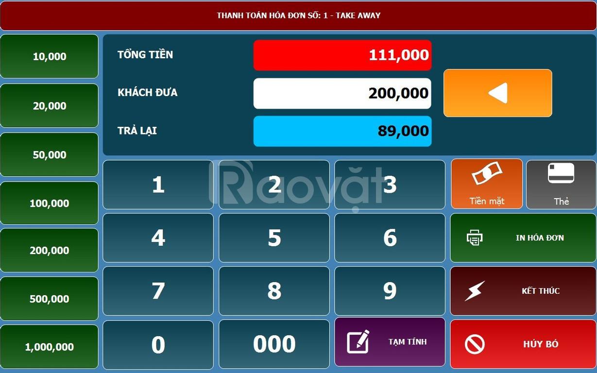 Phần mềm tính tiền tại Buôn Ma Thuột - daklak