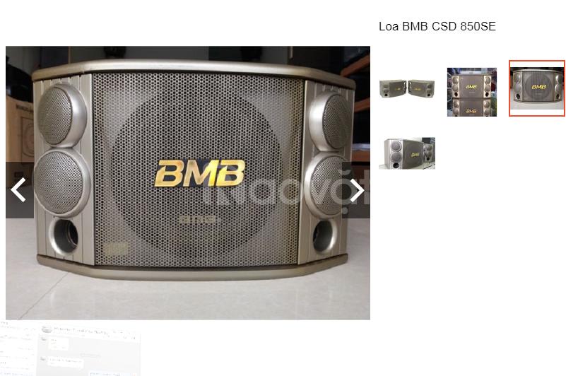 Dòng loa BMB csx550 với nhiều tính năng được đổi mới
