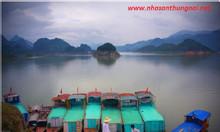 Đặt ăn và thuyền tại Thung Nai