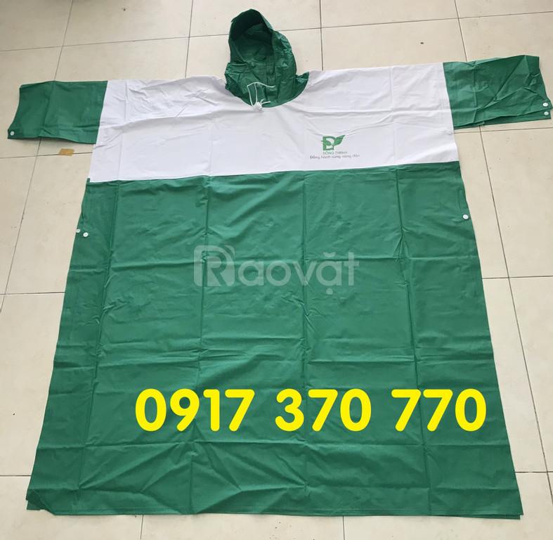 Áo mưa quảng cáo, áo mưa in logo theo yêu càu tại hcm