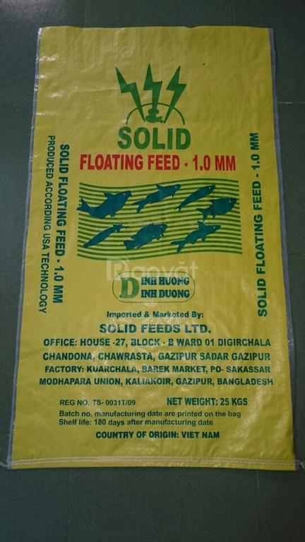 Chuyên sản xuất và cung cấp bao bì thức ăn thủy hải sản