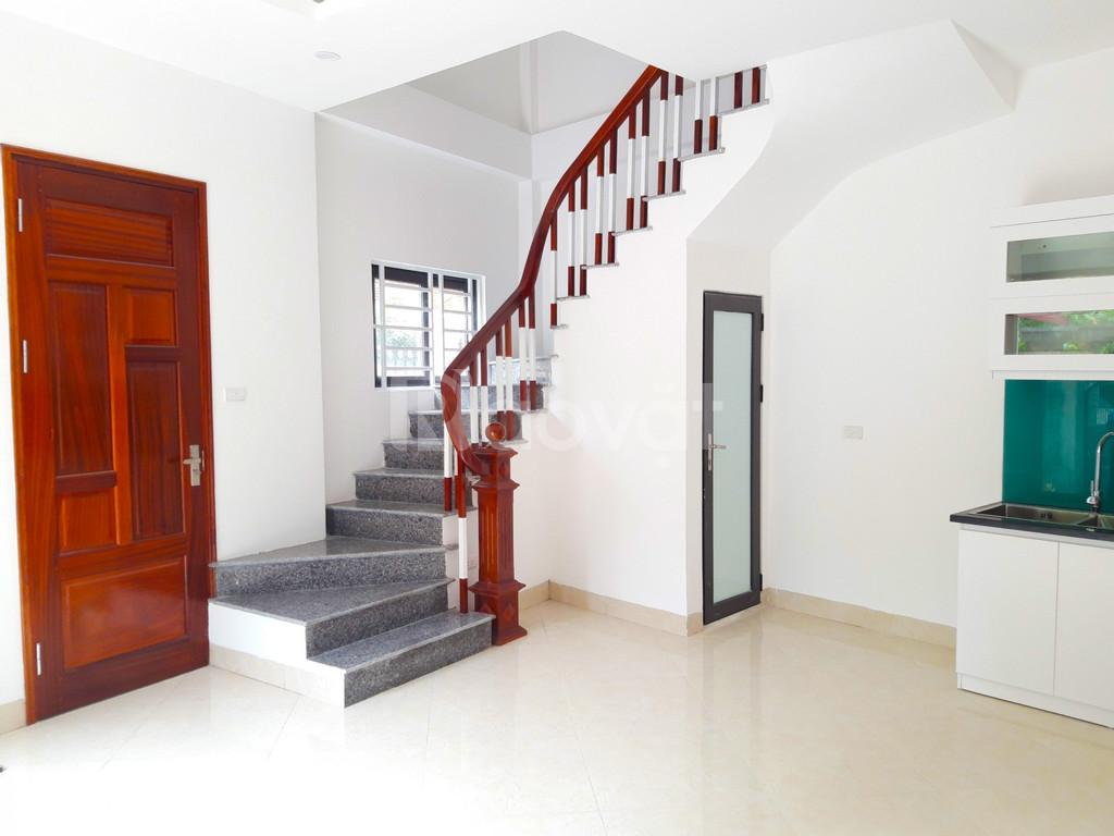 Bán nhà phố Trần Cung, gần trường, đường ô tô, DT 35m2 xây 5 tầng