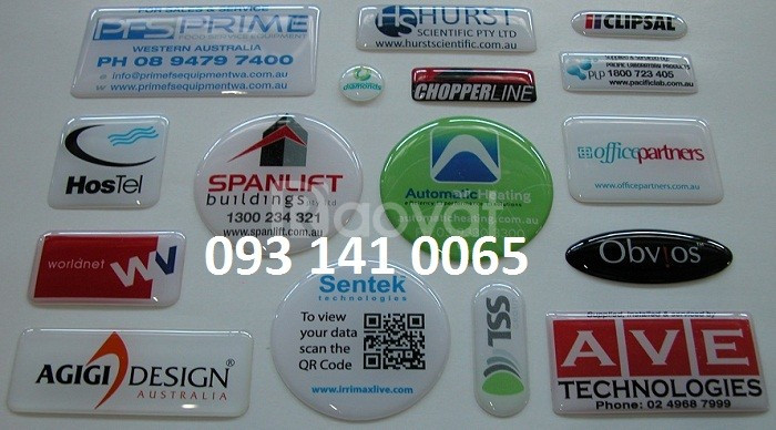 In decal hologram, decal sữa, decal giấy, decal 7 màu