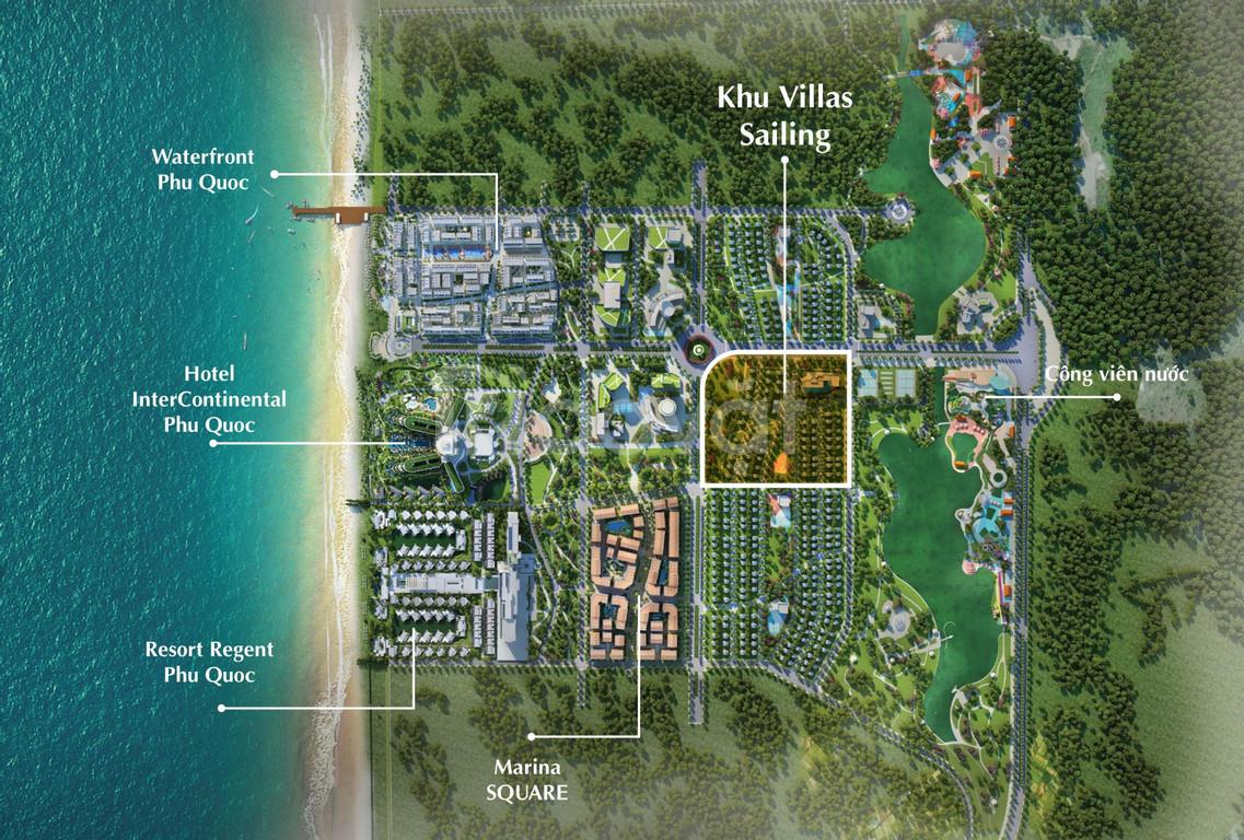 Biệt thự Phú Quốcsở hữu vĩnh viễn, có hồ bơi khuôn viên riêng.