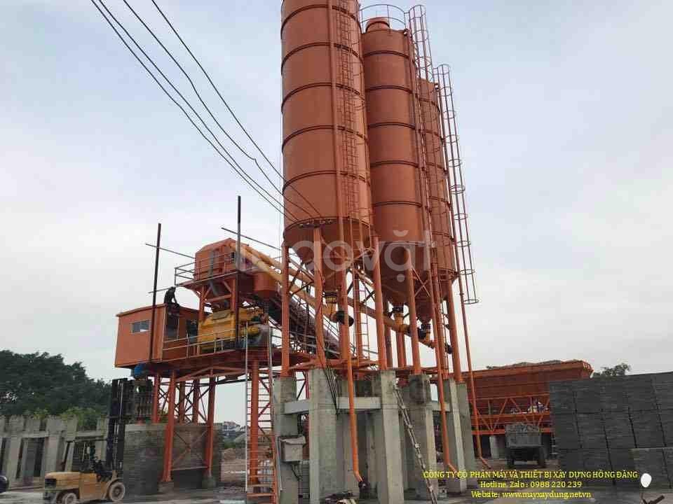 Trạm trộn bê tông 25 - 120 m3/h - hàng nhập khẩu chính hãng