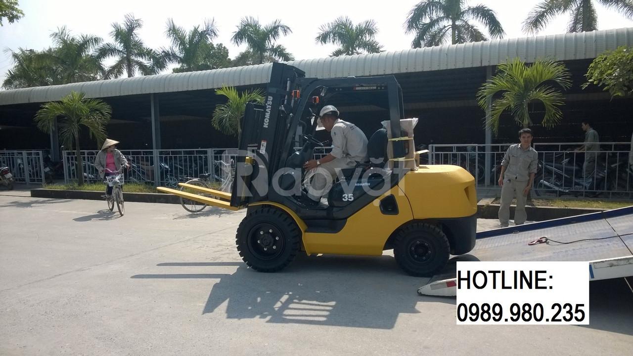 Bán xe nâng Komatsu 3.5 tấn, model: FD35AT-17