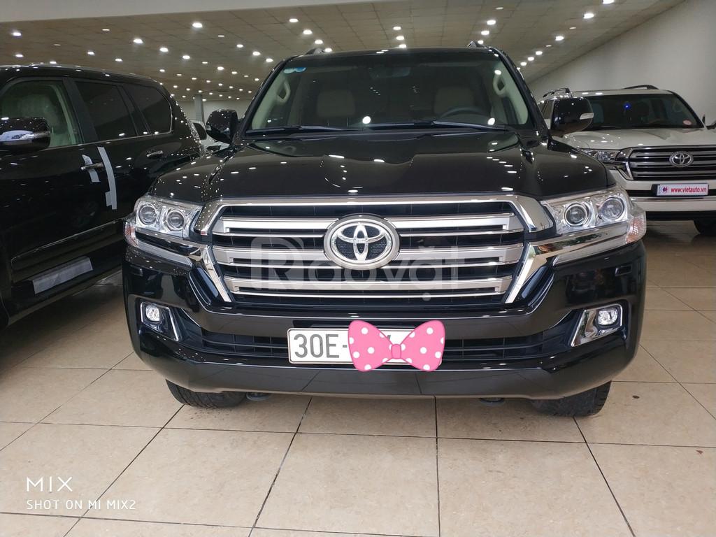 Bán Toyota Land Cruiser VX 2016 màu đen tên công ty