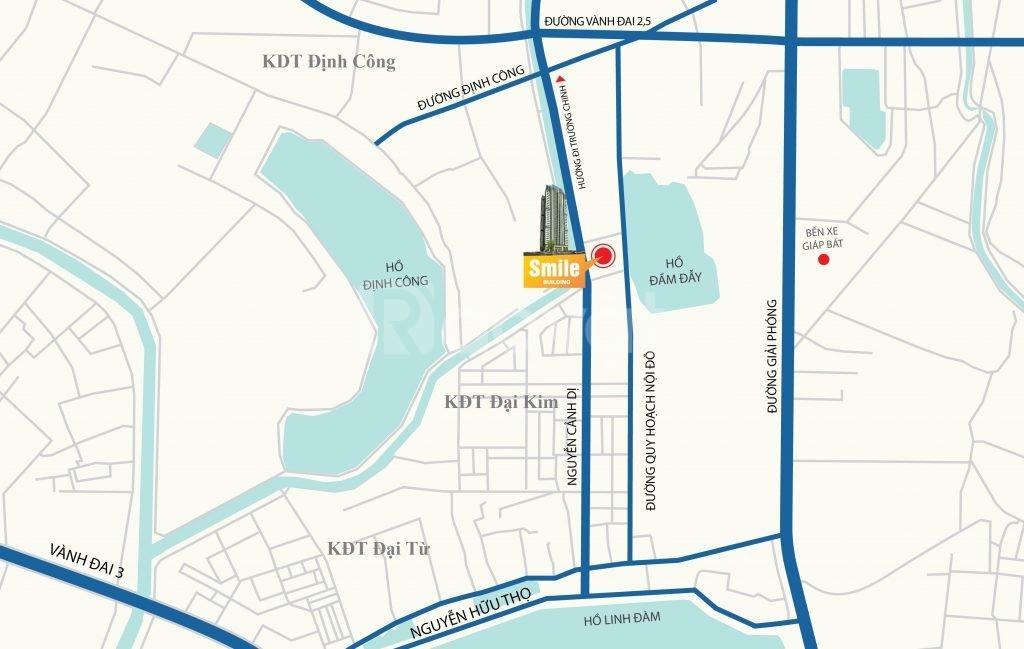 Cần bán (chính chủ) căn hộ 3PN chung cư Smile Building, Hoàng Mai, HN
