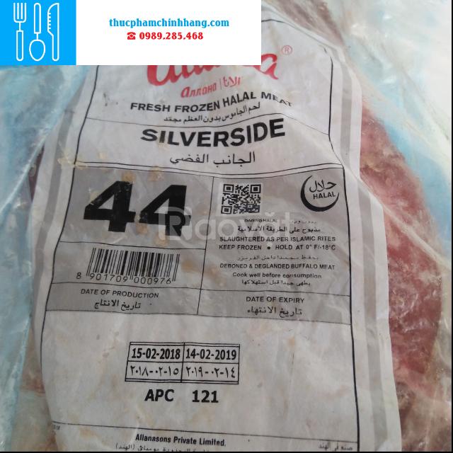 Thịt nạc đùi M44 trâu Ấn Độ