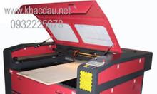 Máy cắt vải laser 1610, 1390 hai đầu, giá rẻ