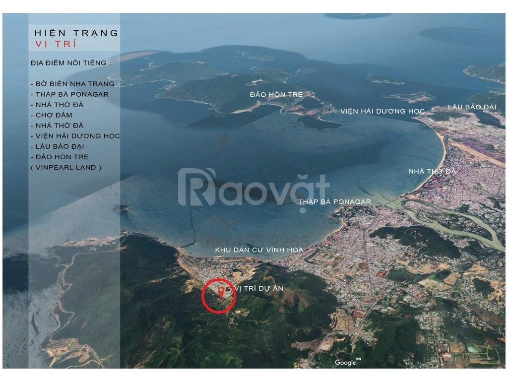 Chỉ 18tr/m2 sở hữu đất nền Nghỉ Dưỡng - DamEva Nha Trang